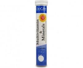 DioCare Multivitamin and Minerals Συμπλήρωμα διατροφής Με Βιταμίνες Και Ιχνοστοιχεία 24tabs + 4tabs