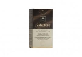 Apivita Βαφή Μαλλιών 6.0 My Color Elixir kit Μόνιμη ΞΑΝΘΟ ΣΚΟΥΡΟ