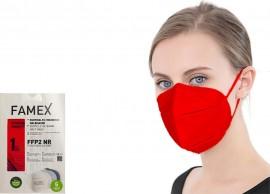 Famex Particle Filtering Mask FFP2 NR Red/ Κόκκινο 10τμχ