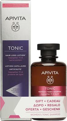 Apivita Promo Hair Loss Lotion Λοσιόν κατά της Τριχόπτωσης 150ml & ΔΩΡΟ Τονωτικό Σαμπουάν για Γυναίκες 250ml