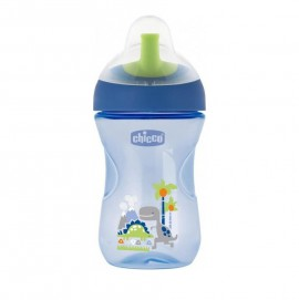 Chicco Advanced Cup Easy Drinking 12m+ Μπλέ 266ml