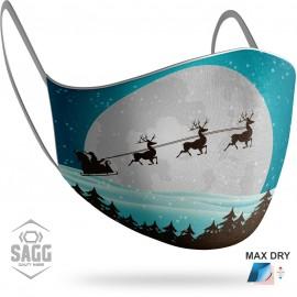 Unisex Μάσκα Προστασίας Santa Claus 8, SAGG