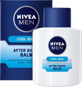 Nivea Men After Shave Balm Cool Kick, Βάλσαμο για Μετά το Ξύρισμα, 100ml
