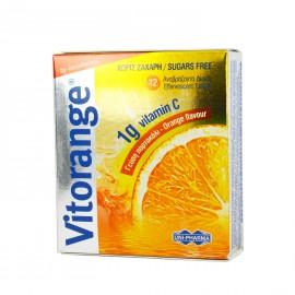 UNIPHARMA Vitorange Vitamin C 1g Sugar Free 12 Αναβρ. Δισκία