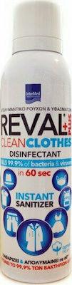 Intermed Reval Plus Clean Clothes Απολυμαντικό Ρούχων & Υφασμάτων Με Άρωμα Cotton Fresh, 200ml