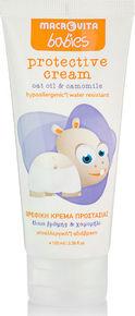 Macrovita Babies Protective Cream Βρεφική Κρέμα Προστασίας με Έλαιο Βρώμης & Χαμομήλι 100ml