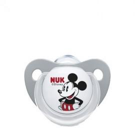 Nuk Disney Mickey Πιπίλα Σιλικόνης Γκρι 6-18m 1τμχ (10.543.757)