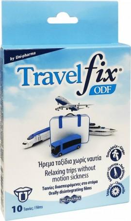 Uni-Pharma Travelfix ODF, Διασπειρόμενες Ταινίες για την Ναυτία, 10 ταινίες