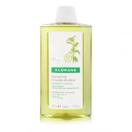 Klorane Shampoo Citrus Pulp Σαμπουάν συχνής χρήσης με πολτό Κίτρου & βιταμίνες, για όλους τους τύπους μαλλιών, 400ml