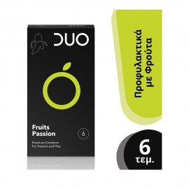 DUO Fruits Passion Προφυλακτικά 6τμχ