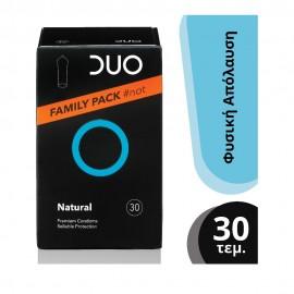 DUO Προφυλακτικά Premium Family Pack Natural, 30τμχ