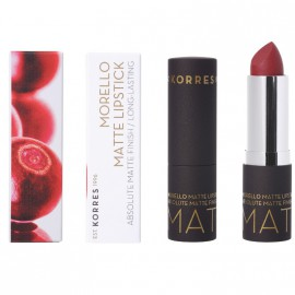Korres Morello Matte Lipstick 59 Burgundy Red Matte 3.5gr
