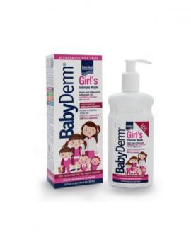Intermed Babyderm Girls Intimate Wash, Καθαριστικό Ευαίσθητης Περιοχής για Κορίτσια 300ml