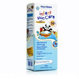 Frezyderm Infant Sun Care SPF50+ Αντηλιακό Γαλάκτωμα για Νήπια & Παιδιά από τον 12ο μήνα, 100ml