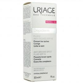 Uriage Depiderm Fluide Anti Taches SPF15 Λοσιόν κατά των Δυσχρωμιών, 30ml