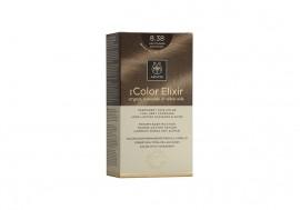Apivita Βαφή Μαλλιών 8.38 My Color Elixir kit Μόνιμη ΞΑΝΘΟ ΑΝΟΙΧΤΟ ΜΕΛΙ ΠΕΡΛΕ