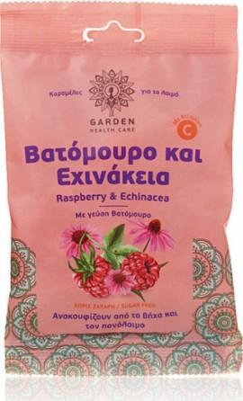 Garden Καραμέλες για τον λαιμό με Γεύση Βατόμουρο και Εχινάκεια 60gr
