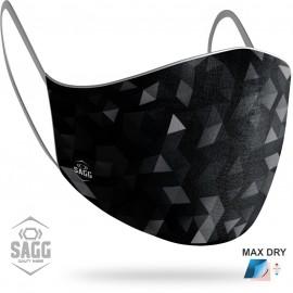 Unisex Μάσκα Προστασίας Geometric, SAGG