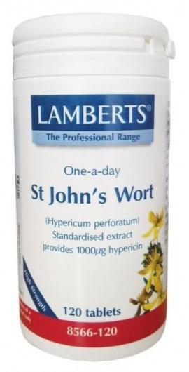 Lamberts St. Johns Wort Βαλσαμόχορτο, Βότανο του Αγίου Ιωάννη ή Υπερικόν (Hypericum Perforatum) 1332mg 120 Tablets