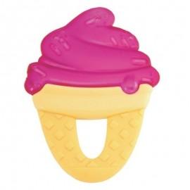 Chicco Δροσιστικός Κρίκος Οδοντοφυϊας Φούξια Παγωτό 4+, 1τμχ