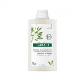 Klorane Oat Milk Shampoo, Avoine Απαλό Σαμπουάν Καθημερινής Χρήσης με Γαλάκτωμα Βρώμης BIO, 400ml