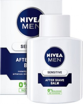 Nivea Men After Shave Sensitive Replenishing Balm Για Μετά Το Ξύρισμα,100ml