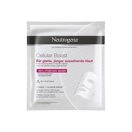 Neutrogena® Ενυδατική Μάσκα Κατά της Γήρανσης Cellular Boost 100% Hydrogel Mask, 30ml