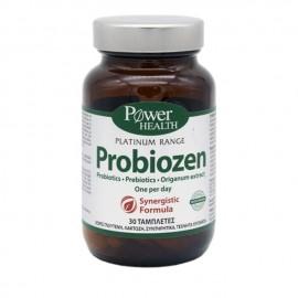 Power Health Classics Platinum Probiozen Συμπλήρωμα Προβιοτικών & Πρεβιοτικών για την Καλή Υγεία του Εντέρου, 30 tabs