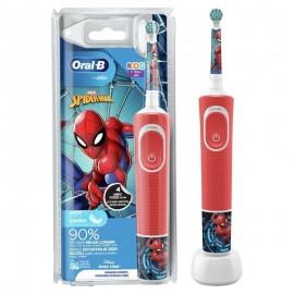 Oral-B Kids Ηλεκτρική Οδοντόβουρτσα Spiderman για παιδιά 3+, 1τμχ