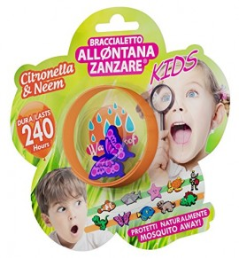 Brand Italia Citronella Mosquito Away Kids Red 1τμχ