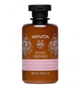 Apivita Rose Pepper Αφρόλουτρο 250ml