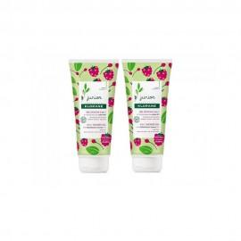 Klorane Junior Gel Douche, Body & Hair 2-en-1 Raspberry 2x200ml  (-50% Έκπτωση στο 2ο Προϊόν)