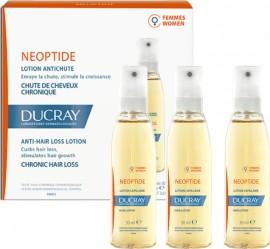 Ducray Neoptide Women Lotion, Φιαλίδια για την Καταπολέμηση Γυναικείας Τριχόπτωσης 3x30ml