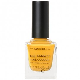 Korres Gel Effect Nail Colour 91 Sunshine 11ml