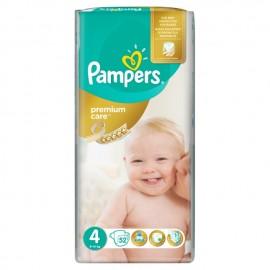 Pampers Premium Care No4 (9-14kg) Βρεφικές Πάνες, 44τμχ
