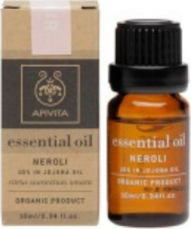 Apivita Essential Oil Neroli Αιθέριο Έλαιο Νέρολι / 10% διάλυμα σε λάδι jojoba, 10ml