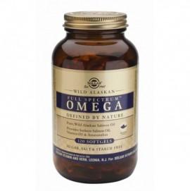 Solgar Wild Alaskan Full Spectrum Omega Συμπλήρωμα Διατροφής με Ωμέγα Λιπαρά Οξέα (Ω3, Ω5, Ω6, Ω7 & Ω9) για την Καλή Υγεία του Εγκεφάλου & του Καρδιαγγειακού Συστήματος, 120softgels