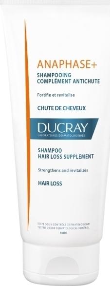 Ducray Anaphase+ Shampoo, Δυναμωτικό Σαμπουάν κατά της Τριχόπτωσης, 200ml