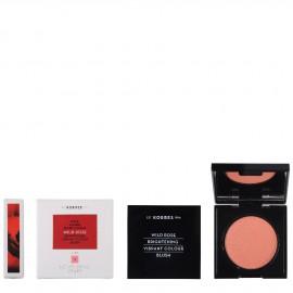 Korres Άγριο Τριαντάφυλλο Ρουζ Brightening Vibrant Colour Blush 18 Peach 5.5g