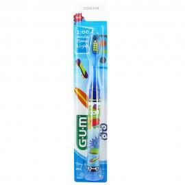 Gum 903 Light-Up Παιδική Οδοντόβουρτσα Μαλακή με Φωτεινή Ένδειξη 1 Λεπτού Μπλε, 1τεμ.