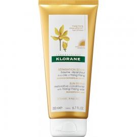 Klorane Conditioner Μαλακτική Κρέμα με Κερί Ylang-Ylang για Μαλλιά στον Ήλιο, 200ml
