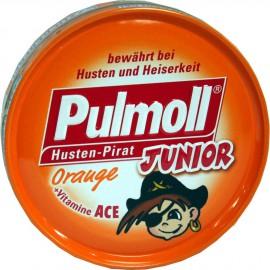 PULMOLL Junior Καραμέλες για Παιδιά με Πορτοκάλι & Βιταμίνες A,C και Ε 45gr