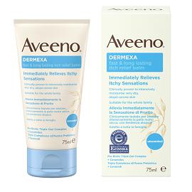 Aveeno Dermexa Fast & Long Lasting Itch Relief Balm, Βάλσαμο για Ανακούφιση από τον Κνησμό, 75ml