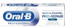 Oral-B Professional Gum & Enamel Pro-Repair Original, Οδοντόκρεμα για Ευαίσθητα Ούλα & Αναδόμηση του Σμάλτου, 75ml