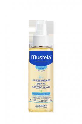 Mustela Oil Huile De Massage  Βρεφικό Λάδι Σώματος για Μασάζ 100ml