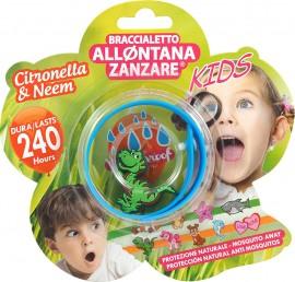Brand Italia Citronella Mosquito Away Kids Blue 1τμχ