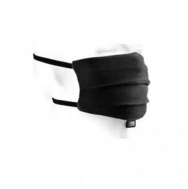 Μάσκα Υφασμάτινη Ενηλίκων Μαύρη, 1 τεμάχιο
