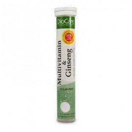 DioCare Multivitamin and Ginseng Eff Πολυβιταμινούχο Συμπλήρωμα Διατροφής Με Εκχύλισμα Ginseng 24tab