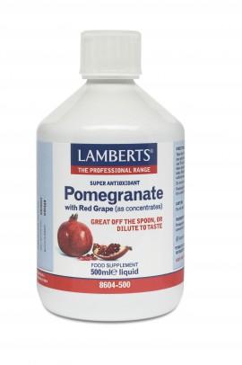 Lamberts Pomegranate Concentrate Συμπλήρωμα Για Την Ενίσχυση Του Ανοσοποιητικού 500ml