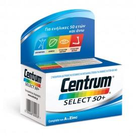 Centrum Select 50+ Complete from A to Zinc Συμπλήρωμα Διατροφής Πλούσιο σε Βιταμίνες & Μέταλλα για Ενήλικες άνω των 50 Ετών, 60tabs